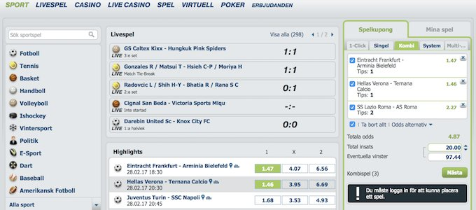 bet-at-home Sport Odds