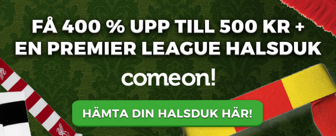 ComeOn Premier League Halsduk