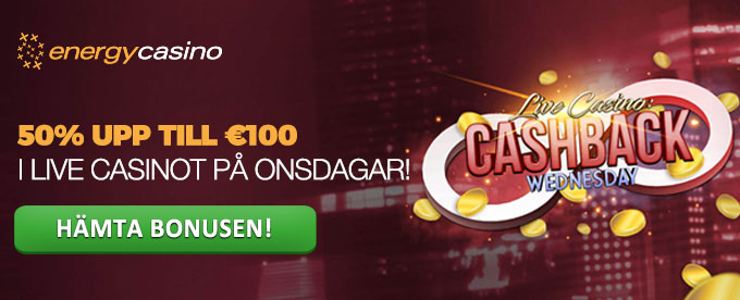 Energy Casino Kampanj