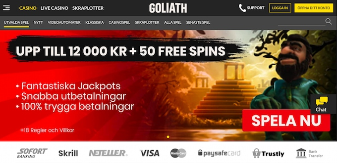 Goliath Casino Bonus