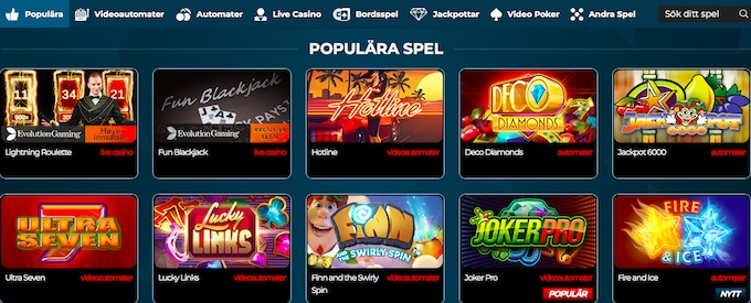 NorskeAutomater Free Spins