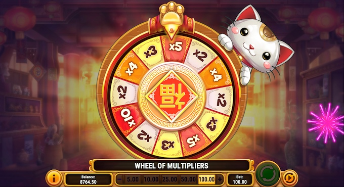 Big Win Cat slot Bonus