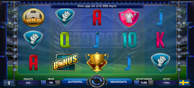 Football Champions Cup Slot Online