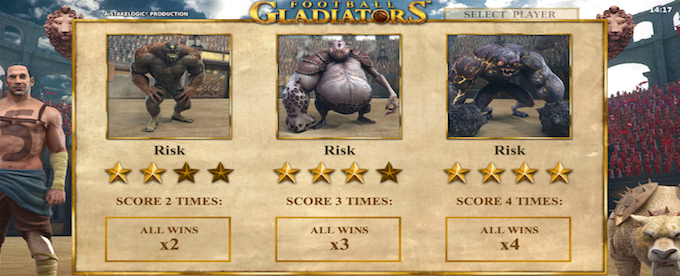 Football Gladiator Slot