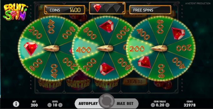 Fruit Spin Free Spins