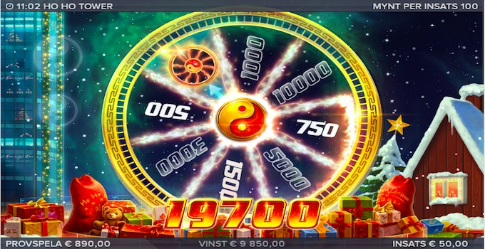 Ho Ho Tower slot Bonus - Wheel of the Sky
