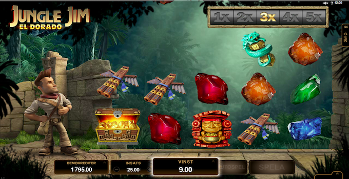 Jungle Jim Slot