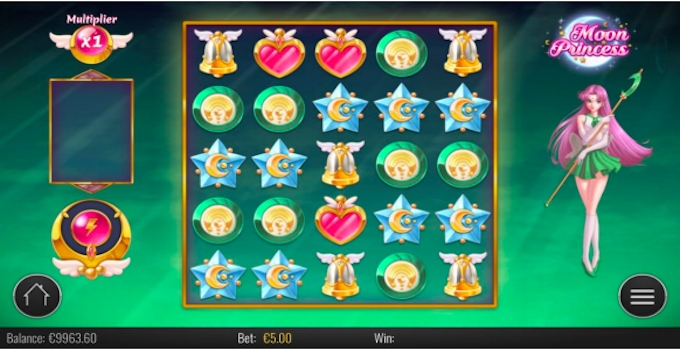 Moon Princess Free Spins