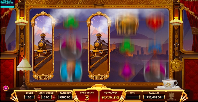 Orient Express slot Free Spins