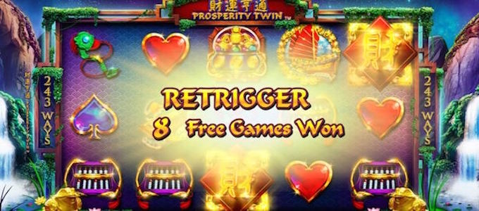 Prospeity Twin Slot Free Spins