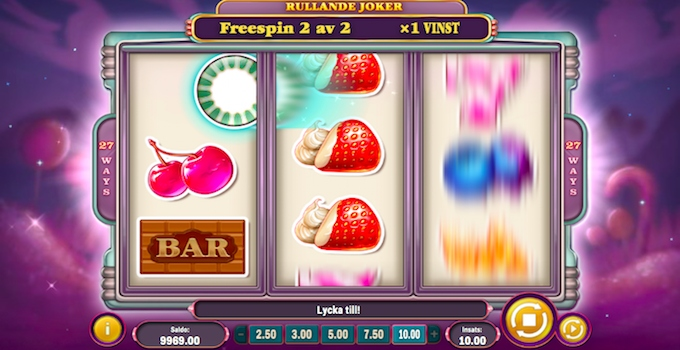 Sweet 27 Free Spins