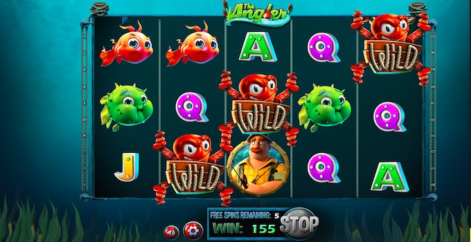The Angler slot Free Spins