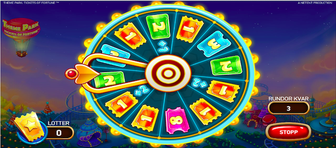 Theme Park Fortune Slot
