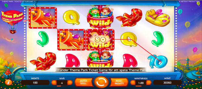 Theme Park Ticket of Fortune Slot