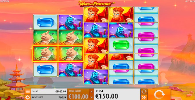 Wins of Fortune Free Spins