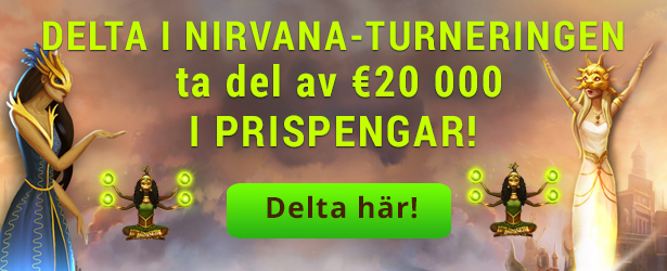Nirvana Turnering Casino Heroes