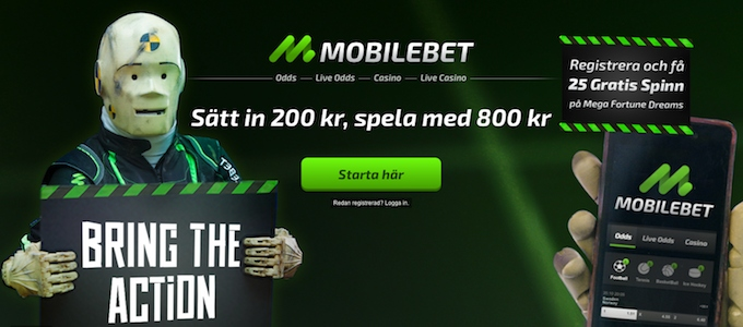 Mobilebet Free Spins