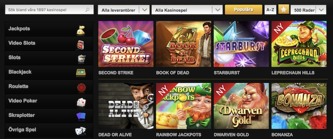 Videoslots Free Spins