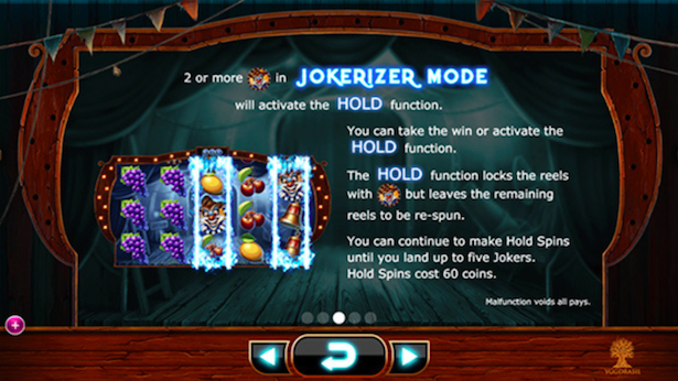 Wicked Circus Jokerizer Mode